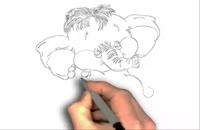 ویدئو نقاشی فیل
