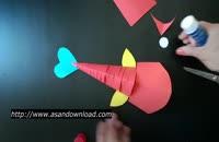 آموزش ساخت ماهی کاغذی