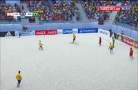 ویدئو گل های بازی فینال فوتبال ساحلی (باهاما) 6-0 به سود برزیل