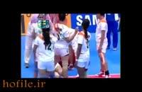 اتفاق نادر در مسابقات زو دختران