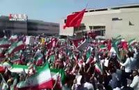 استقبال پرشور مردم مشهد از حجتالاسلام رئیسی