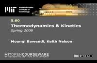 ترمودینامیک و سینتیک، دانشگاه MIT، جلسه 3