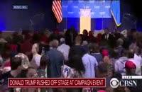 فوری/حادثه امنیتی در آمریکا؛ ترامپ فرار کرد