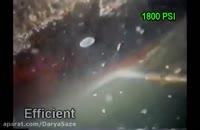 تمیز کردن سازه های دریایی در زیر آب