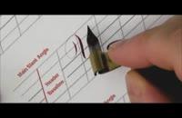 آموزش خوشنویسی انگلیسی خط کاپرپلیت | قسمت 5 حروف U-X-Y