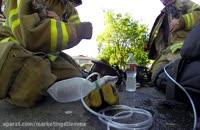 تبلیغ دوربین GoPro و نجات گربه توسط آتشنشان