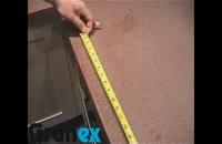 6- برش سینک و اجاق گاز | برش دایره ای سینک کورین