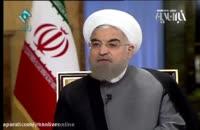 جواب دورغ حسن روحانی با سخنرانی امام خامنه ای (1)
