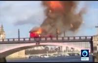 انفجار در مرکز لندن رعب و وحشت مردم را برانگيخت 2