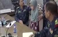 نجات دختر جوان ایزدی از چنگ داعش غرب موصل سوریه