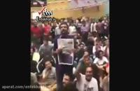 فیلم/ شعار مردم قزوین: «وصیت هاشمی، حمایت از روحانی»