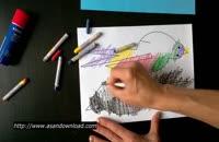 ویدئو ساخت کاردستی پرنده