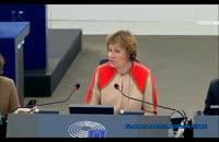 سخنان نماینده لهستان در پارلمان اروپا درباره ایران