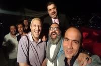 سرضبط شب های پایتخت در کنار یوسف صیادی ، رضا ایرانمنش