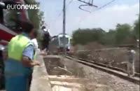 تصادف مرگبار قطار در استان باری ایتالیا؛ حداقل بیست کشته و دهها زخمی
