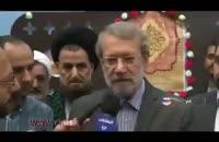 انتخابات- شرکت لاریجانی در انتخابات
