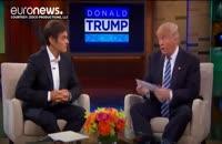 ترامپ در شوی تلویزیونی دکتر آز برگۀ سلامت ارائه داد