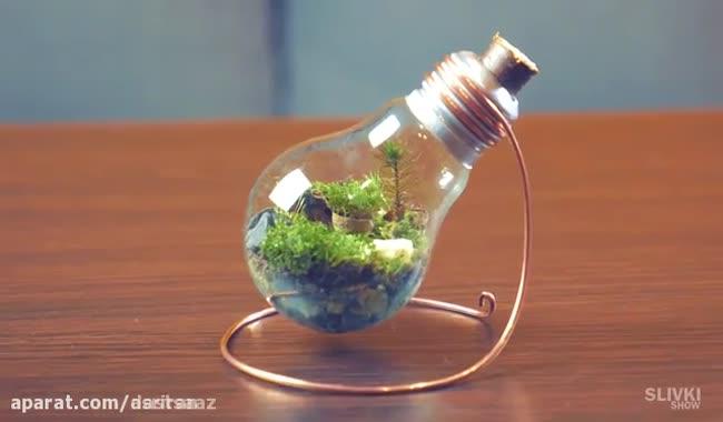 آموزش ساخت لامپ ترئینی