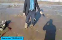 غرق شدن پسر 12 ساله در سیل آذربایجان
