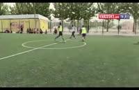 کلیپ گل بی نظیر عادل فردوسی پور (مجری برنامه 90) در تمرینات رسانه ورزش