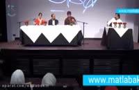 گریه بازیگر معروف شهاب حسینی در برنامه زنده تلویزیونی