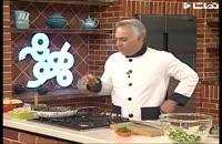 کلیپ آشپزی خوشمزه: طرز درست کردن سالاد مرغ و خیار