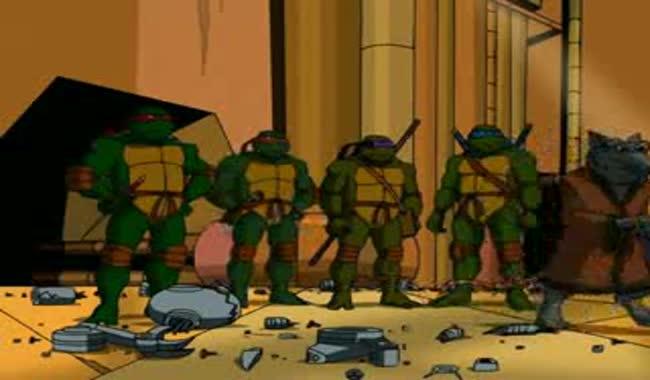 کارتون لاکپشت های نینجا قسمت اول