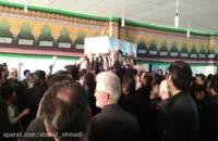 ورود شهدای گمنام فاطمی به حسینیه ی چهاردانگه ای ساری