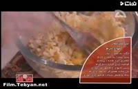 کلیپ آشپزی: آموزش درست کردن استیک شکم پر خوشمزه