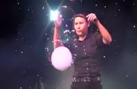 اجرای نمایش بسیار زیبا با حباب