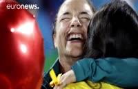 پیشنهاد ازدواج به ورزشکار برزیلی در المپیک