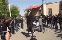 روستای آبدر - روز تاسوعای حسینی سال 1394 مداحی جناب آقای مومن رضائی