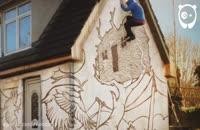 ویدیوی استاپ موشن دیدنی از رنگ کردن خانه