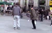 سورپرایز کریس رونالدو در خیابان