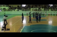رقص آیینی آذربایجان در اختتامیه مسابقات ورزشی توسط گروه آیلان