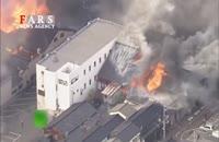 آتشسوزی 140 ساختمان در ژاپن