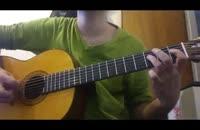 ای ایران با گیتار