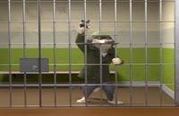 زاک کینگ فرار از زندان ,کلیپ جالب