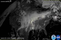 طوفان آذرخشی در سراسر آمریکا