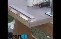 9- ساخت لبه کورین | ساخت پیشانی لبه قرنیز هلالی کورین