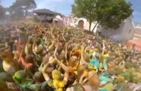 فستیوال رنگ ها در بلاروس مینسک