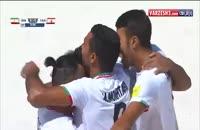 ویدئو گل ها و پنالتی های بازی فوتبال ساحلی ایران - تاهیتی