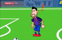 انیمیشن طنز فینال لالیگا