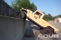 ماشینی که از دیوار صاف میره بالا
