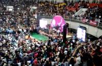 رحیم شهریاری در جشن پیروزی حسن روحانی