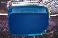 خلاصه بازی پرتغال ۱-۰ فرانسه یورو ۲۰۱۶