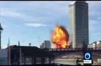 انفجار در مرکز لندن رعب و وحشت مردم را برانگيخت 1
