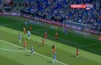ویدئو گل بسیار زیبای والنسیا به اسپانیول + موقعیت های حساس بازی