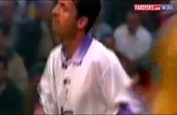 کلیپ به یاد ماندنی بازی فوتبال (فینال سال 1998) دو تیم رئال مادرید و یوونتوس