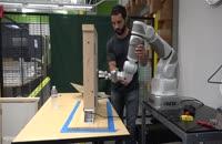 آموزش باز کردن در به ربات